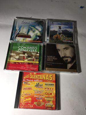 Spanish music cds for Sale in Polk City, FL