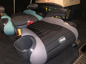 2 chicco GoFit backless Booster Car Seat for Sale in Seattle, WA