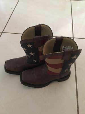 American flag kids cowboy boots Durango for Sale in Cape Coral, FL