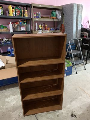 4 shelve storage unit for Sale in Sterling Heights, MI