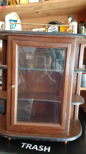 20 by 18 and 1/2 vintage cabinet for Sale in Overland Park, KS