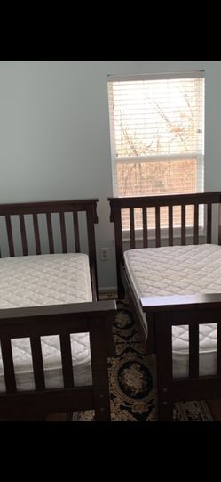 Bunk bed Mattress Included For $400 For More Information Contact for Sale in Arnold,  MO