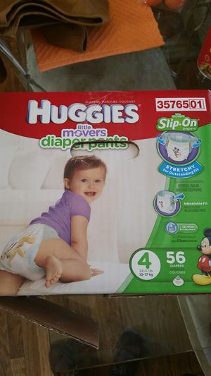 Huggies little movers Brand new size 4 for Sale in Lakewood, CO