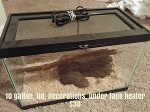 10 reptile tank for Sale in Santa Maria, CA