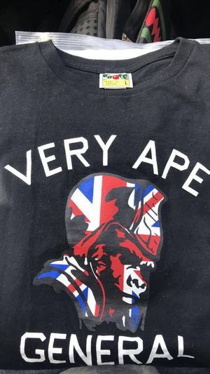 Bape Shirt Very Ape General for Sale in Forney, TX