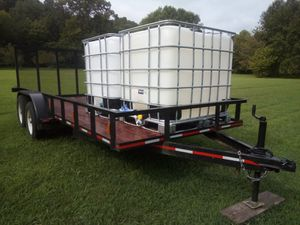 16 ft dual axle trailer brand new for Sale in GOODLETTSVLLE, TN