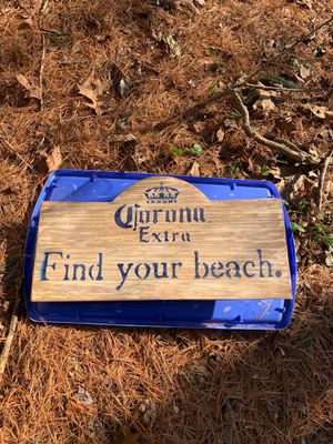 Corona Extra Find Your Beach Sign (plastic with Post Holder Slot) $30 for Sale in Westminster, MD