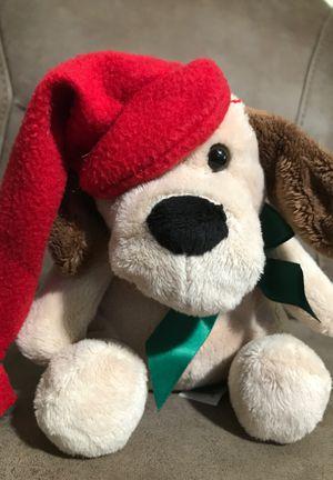 "8"" Xmas Dog stuffed animal $2 for Sale in Menifee, CA"