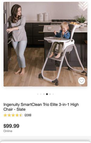 high chair 3 inn1 for Sale in Irvine, CA