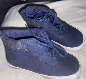 Old Navy baby/toddler NAVY BLUE shoes 18-24mo-NEW for Sale in Cranford, NJ