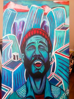 Inner city blues by dossome for Sale in Atlanta, GA