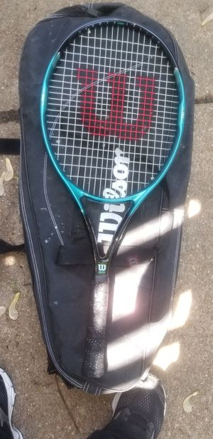 Tennis racket and bag for Sale in St. Louis, MO