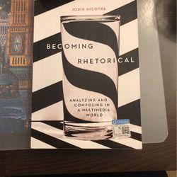 Becoming Rhetorical By Jodie Nicotra for Sale in Ridgefield,  WA