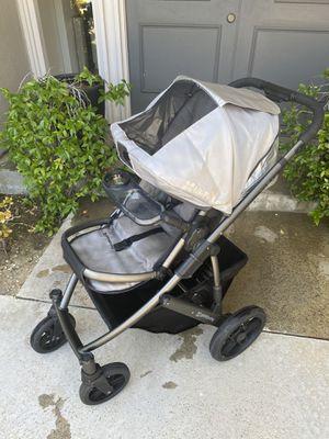 Uppababy Vista Stroller (silver/black) for Sale in Los Angeles, CA