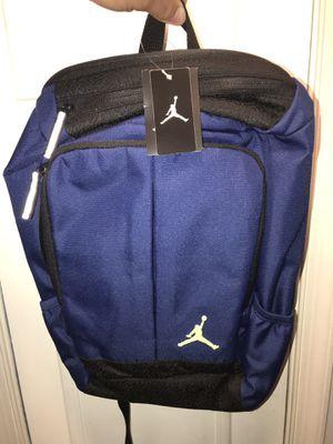 Air Jordan Backpack New Blue $30 or 2 for $50 for Sale in Alexandria, VA