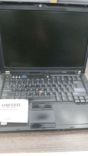 LENOVO THINKPAD T400 LAPTOP BUSINESS CLASS 2 PROCESSOR 160GB 14 IN 2GB WINDOWS 10 for Sale in Warren, MI