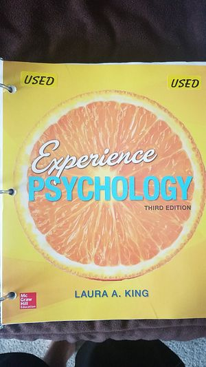Intro to Psychology college textbook for Sale in Montgomery, IL