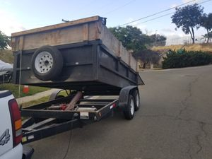 Dump trailer! Not for sale!!! No se vende!! for Sale in San Diego, CA