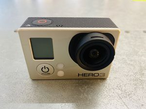 GoPro HERO 3 White 1080P 5MP HD Sport Action Digital Camera Camcorder WiFi for Sale in San Jose, CA