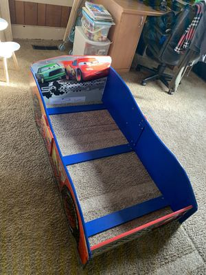 Wooden Lightening McQueen Toddler Size Bed Frame for Sale in Portland, OR