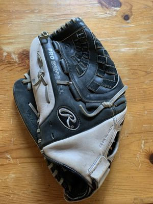Rawlings Silverback SB1351 13.5 inch Left Handed Softball Glove for Sale in Barrington, IL