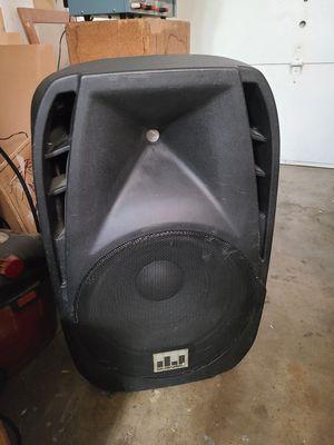 MUSYSIC 1600WATS PROFECIONAL 15 inch for Sale in Hillsboro, OR