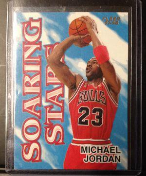 4 Michael Jordan fleer. 1 insert and 3 base for Sale in Pekin, IL