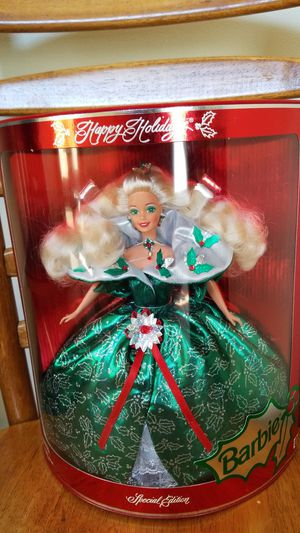 Mattel Barbie 1995 Happy Holidays Special Edition for Sale in Batavia, IL
