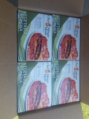 M.R.E. (Self Heating) Chef 5 Minute Meal: Vegetable Lasagna for Sale in Williamsport, MD