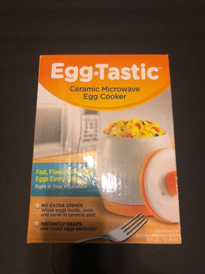 Egg-Tastic Ceramic Microwave Egg Cooker for Sale in Gilbert, AZ