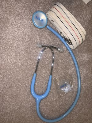 Stethoscope & gait belt for Sale in Bloomington, IL