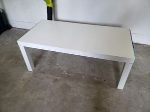 Target 40x20x16 white table for Sale in Tacoma, WA