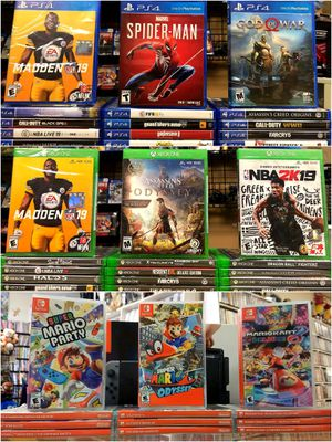 Video Games For Xbox One, Nintendo Switch & PS4 for Sale in Pasadena, TX