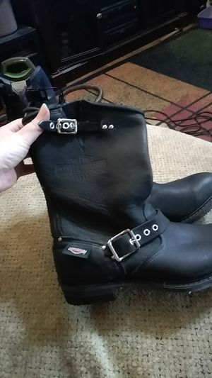 Size 9 / women's oil resistant Harley Davidson boots for Sale in Stuarts Draft, VA