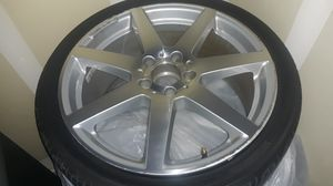 4 AMG Mercedes benz rims and tires. for Sale in Aliso Viejo, CA