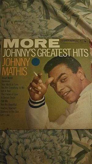 More johnnys greatest hits Johnny mathis Lp record for Sale in New York, NY