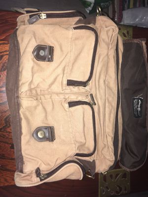 Eddie Bauer's vintage messenger bag for Sale in Newport News, VA
