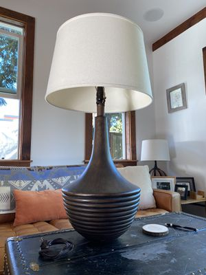 MCM lamp and shade for Sale in Portland, OR