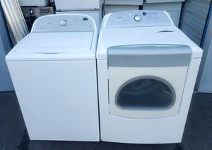 XXL CAPACITY WHIRLPOOL ( CABRIO)WASHER AND DRYER SET for Sale in Vancouver, WA