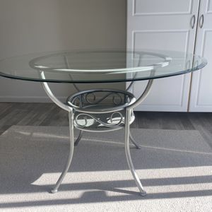 Glass Dining Table for Sale in Sanger, CA