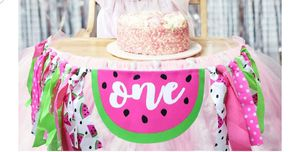 One in a melon birthday banner for Sale in Irwindale, CA