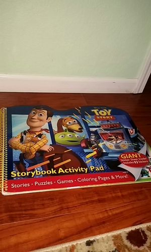Toystory Activity Pad ●stories●puzzles●Games●Coloring pages● and more for Sale in Antioch, CA