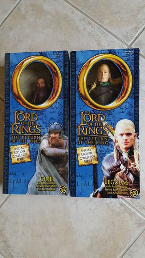 LORD OF THE RINGS FIGURES for Sale in Escondido, CA