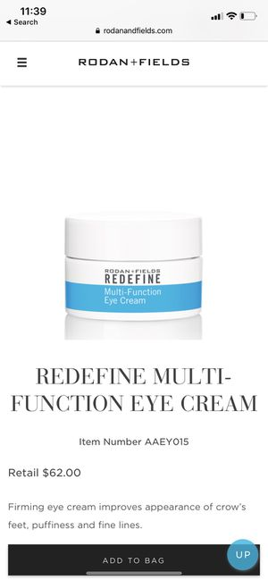 Rodan+Fields Eye Cream for Sale in Ridgefield, WA