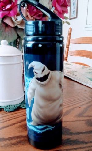 Disney Nightmare Before Christmas Oogie Boogie water bottle for Sale in Fresno, CA