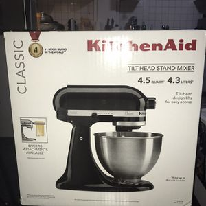 Brand New N ever Opened Kitchen Aid Stand Up Mixer for Sale in TWENTYNIN PLM, CA