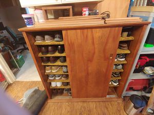 Custom Built Shoe Rack Cabinet for Sale in Glenn Dale, MD