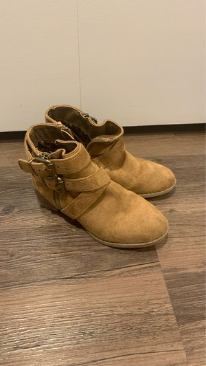 Brown Suede Steve Madden Ankle boots for Sale in Park Ridge, IL