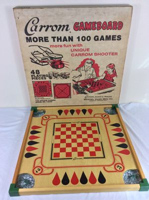 Vintage Merdel Carrom Game Board Model 108 RS More Than 100 Games in Box for Sale in Severn, MD