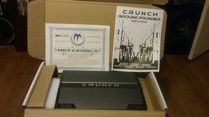 2000 watt Crunch Ground Pounder.This amp is brand new in box never used. This amp will push all your highs with no problem. You cant beat it for $80 for Sale in Selma, AL